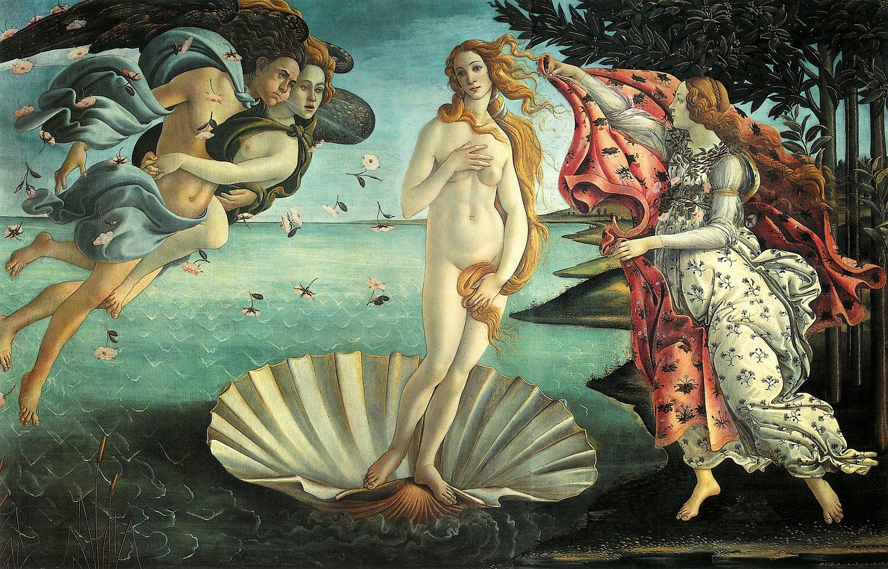 painting-VENUSin seashell